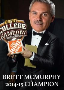 Brett McMurphy: 2014-15 Champion