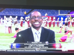 Desmond Howard picks LSU