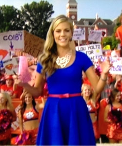 Samantha Ponder, Week 1