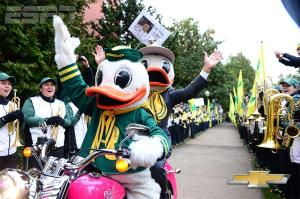 Corso picks the Ducks (courtesy of College Gameday twitter)