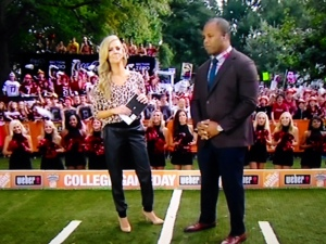 Sam Ponder and George Whitfield, Week 5