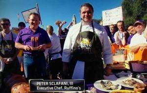 Chef Sclafani and Big Ruffin