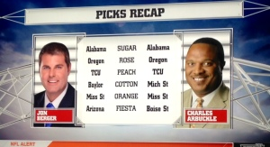 Bowl picks from The Edge on ESPNU