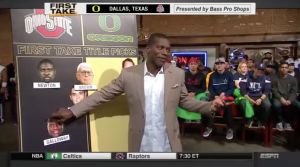 Joey Galloway's pick