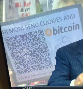 Send this man Bitcoin!