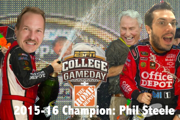 Phil Steele: 2015-16 Champion